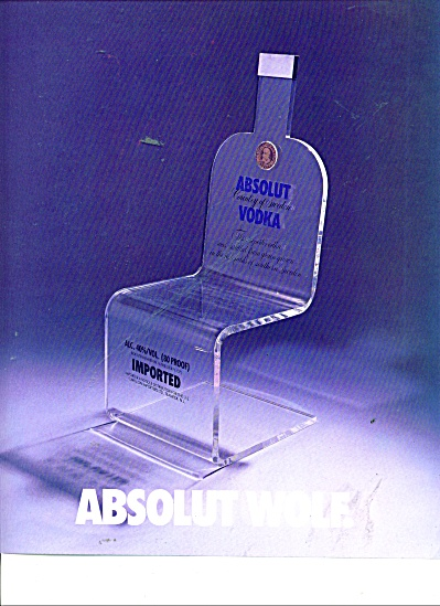 Absolut Wolf - Absolut Locadia Ads