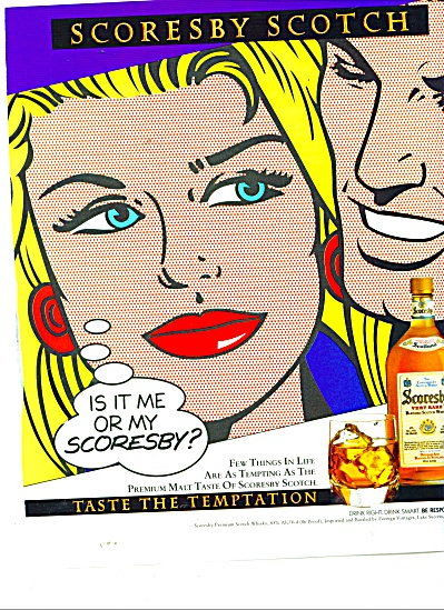 Scoresby Scotch ad TASTE THE TEMPTATION (Image1)