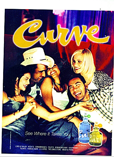 Curve for Men and women ad (Image1)
