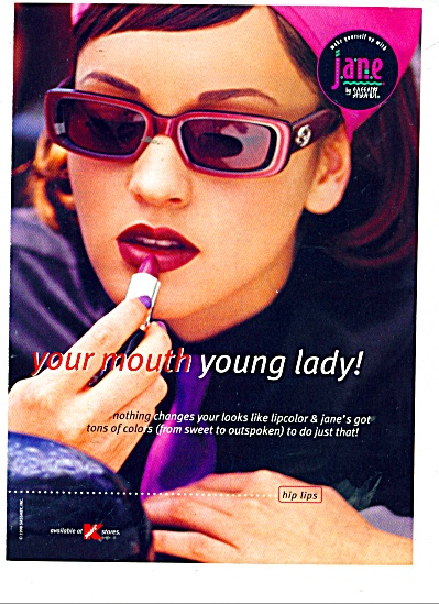 Jane lipstick by Sassaby ad Cute MODEL (Image1)