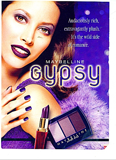 Maybelline Gypsy ad (Image1)