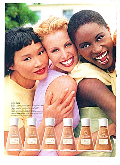 Cover girl clean make up ad (Image1)