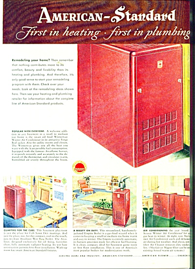 American Standard heating and plumbing ad1951 (Image1)