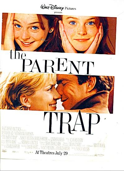 Movie AD PROMO THE PARENT TRAP ad (Image1)