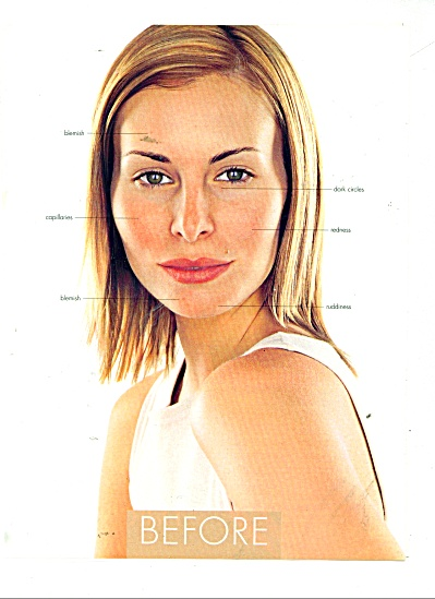Cover girl clean make up ads NIKI TAYLOR 2 pg (Image1)
