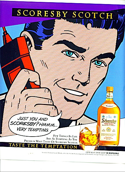 Scoresby Blended scotch whisky ad (Image1)