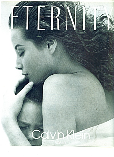 1991 Eternity AD Calvin Klein TURLINGTON (Image1)