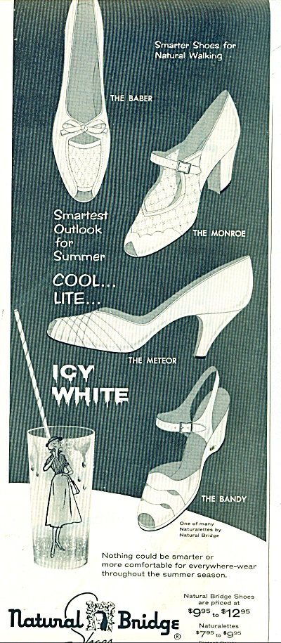 Natural Bridge shoes ad 1956 (Image1)