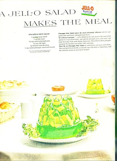 Jello salad  ad 1956 (Image1)