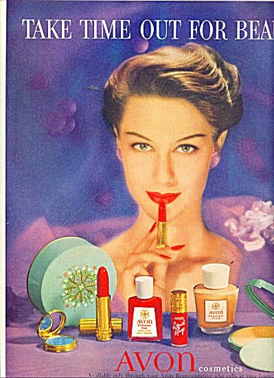 Avon cosmetics ad 1956 (Image1)