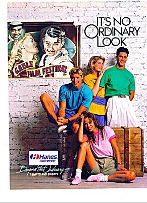 Hanes activewear add 1989 (Image1)