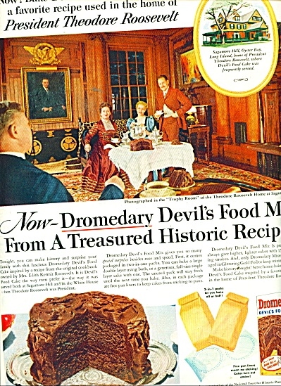 Droimedary Devil's food mix ad 1956 (Image1)