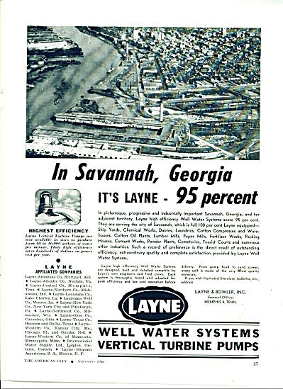 Layne well water systems vertical pumps ad (Image1)