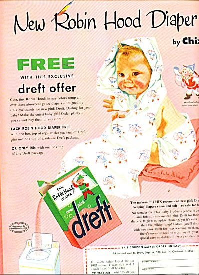 Dreft - new pink soap ad 1956 (Image1)