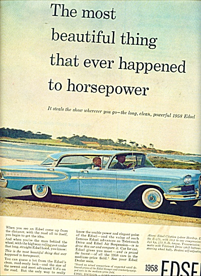 Edsel automobile for 1958 ad CITATION CAR (Image1)