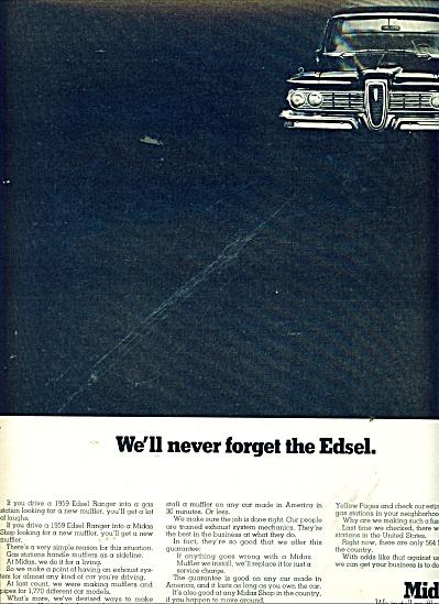 Midas muffler shops ad 1970 (Image1)