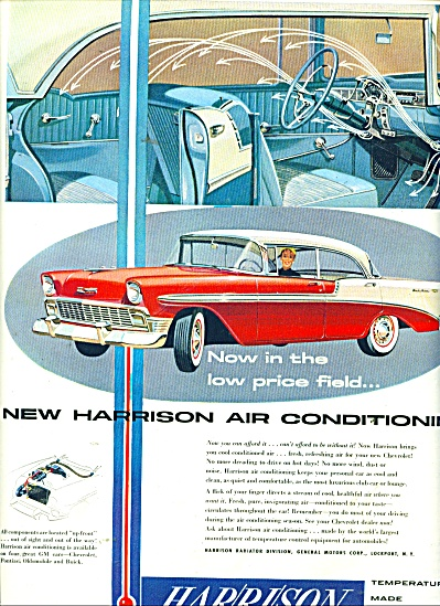 Harrison air conditioning ad 1956 (Image1)
