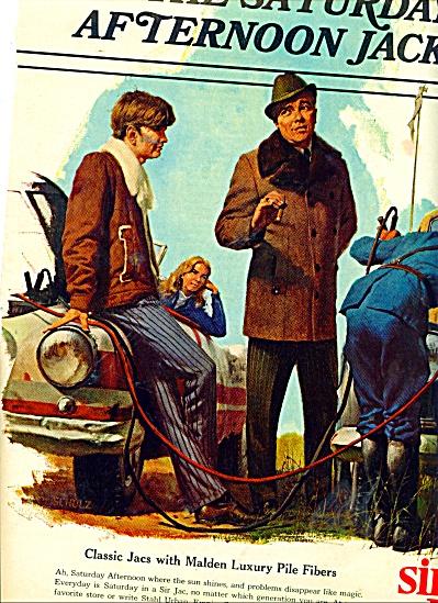 1971 SIR JAC JACKETS AD ROBERT SCHULZ (Image1)
