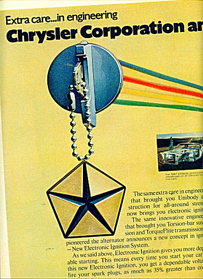 Chrysler Corporation  engineering ad 1971 (Image1)