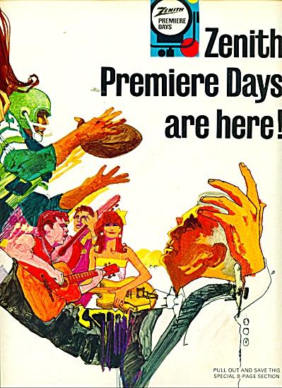 ZenithTelevisions, radios, sales ad 1967 (Image1)