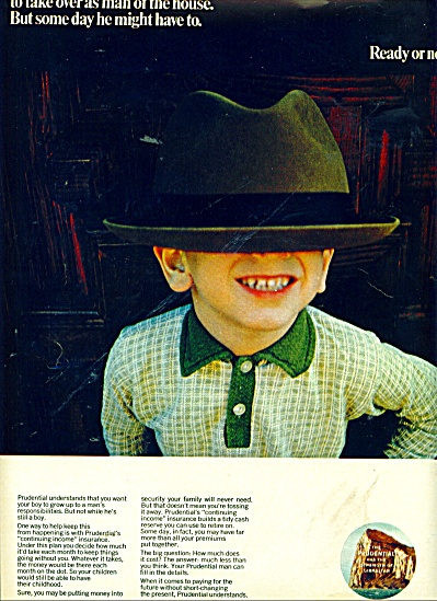 The Prudential Insurance Company of America 1967 BOY (Image1)