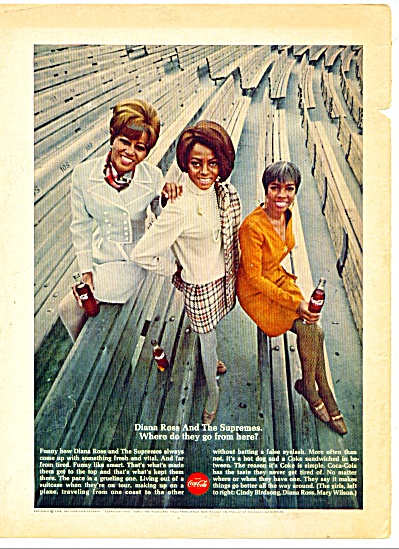 Coca Cola Ad - Diana Ross And The Supremes