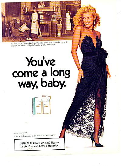 Virginia Slims cigarettes ad (Image1)