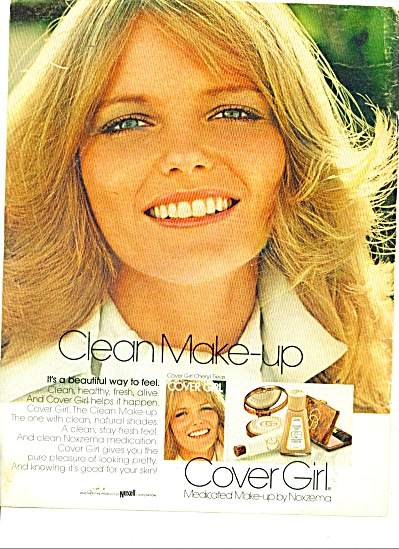 Cover Girl - CHERYL TIEGS  ad (Image1)