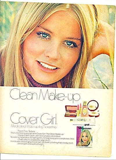1970 Cover Girl CYBILL Shephard AD (Image1)