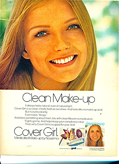 1970 Cover Girl SUSIE BLAKELY AD (Image1)