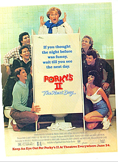 Movie AD PROMO PORKY'S II, THE NEXT DAY - (Image1)