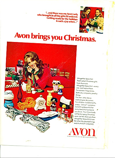 Avon Products Ad 1970
