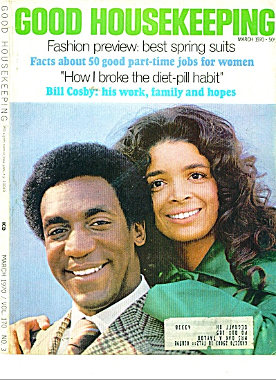 Bill Cosby and family ad 1970 (Image1)