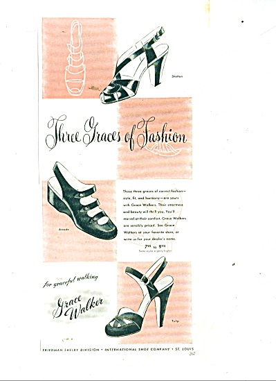 Grace Walker shoes ad (Image1)