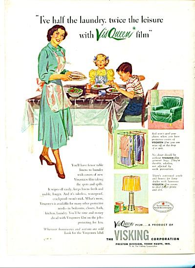 The Visking Corporation - VisQueen film ad (Image1)
