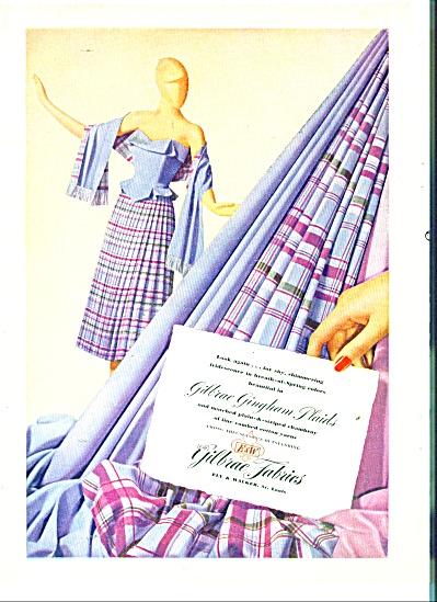 Gilbrae Fabrics - plaids ad (Image1)