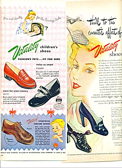 Vitality Shoes - Adults & Childen's Shoes Ad