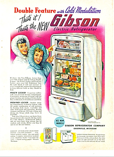 Gibson Refrigerator company ad (Image1)