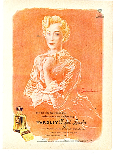 Yardley English Lavender ad EDMONDSON ART (Image1)