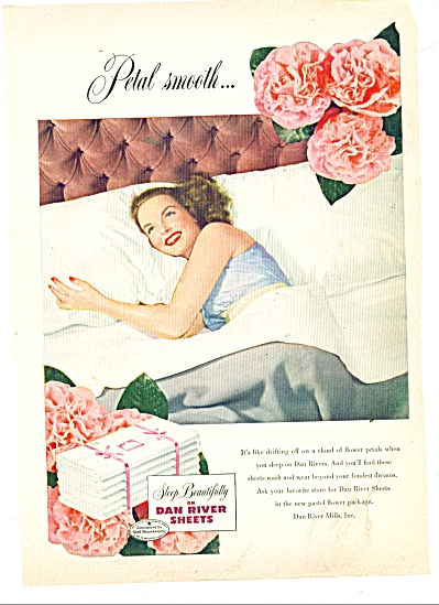 Dan River Sheets ad 1949 (Image1)