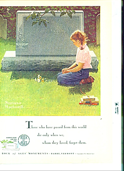 Rock of Ages Monuments - NORMAN ROCKWELL (Image1)