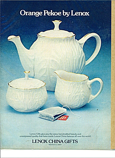 Lenox China gifts ad 1975 (Image1)