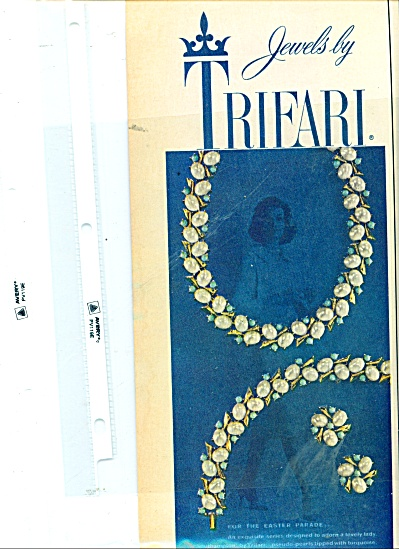 Trifari Jewels ad  1959 (Image1)