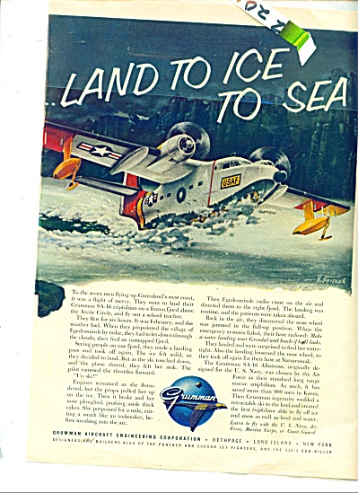 Grumman aircraft engineering corporatiokn ad (Image1)