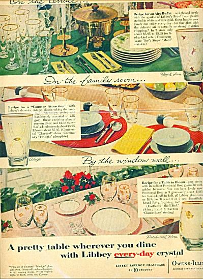 Owens- Illinois Libbey crystal ad 1957 (Image1)