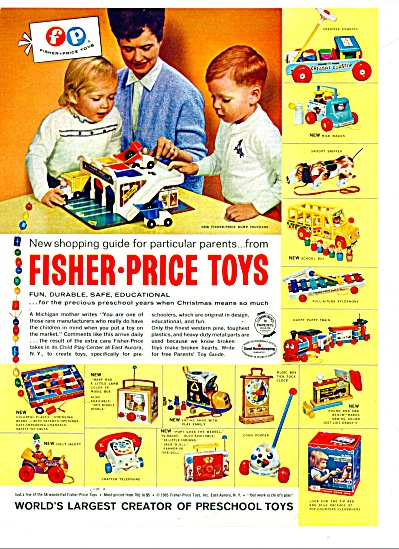 Fisher Price toys ad 1970 (Image1)
