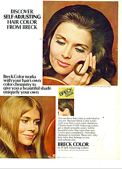 Breck color  ad 1970 (Image1)