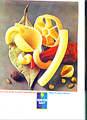 Morton Salt ad PASTA WORTH (Image1)
