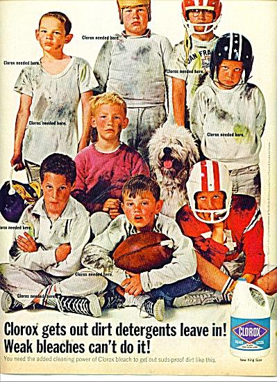 Clorox bleach ad 1964 (Image1)