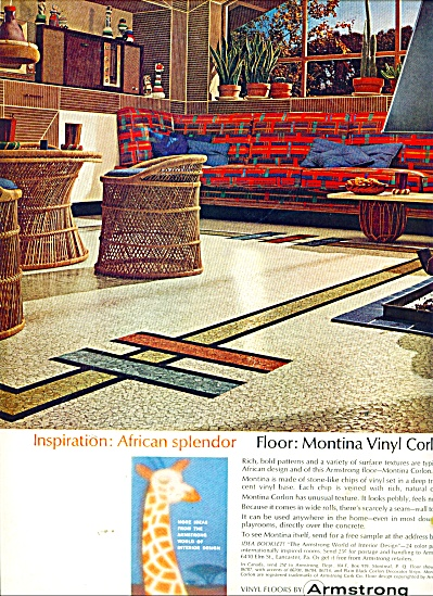 ARmstrong vinyl floors ad 1964 (Image1)
